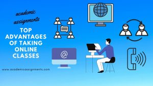 Top Advantages of taking online class for students