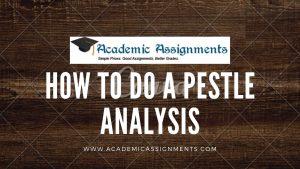 How To Do A Pestle Analysis