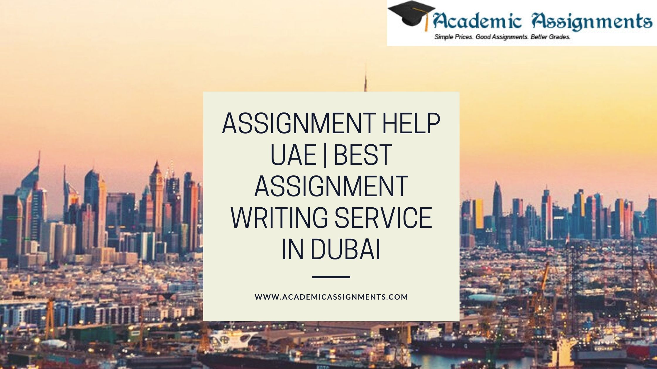 Assignment Help UAE | Best Assignment Writing Service in Dubai