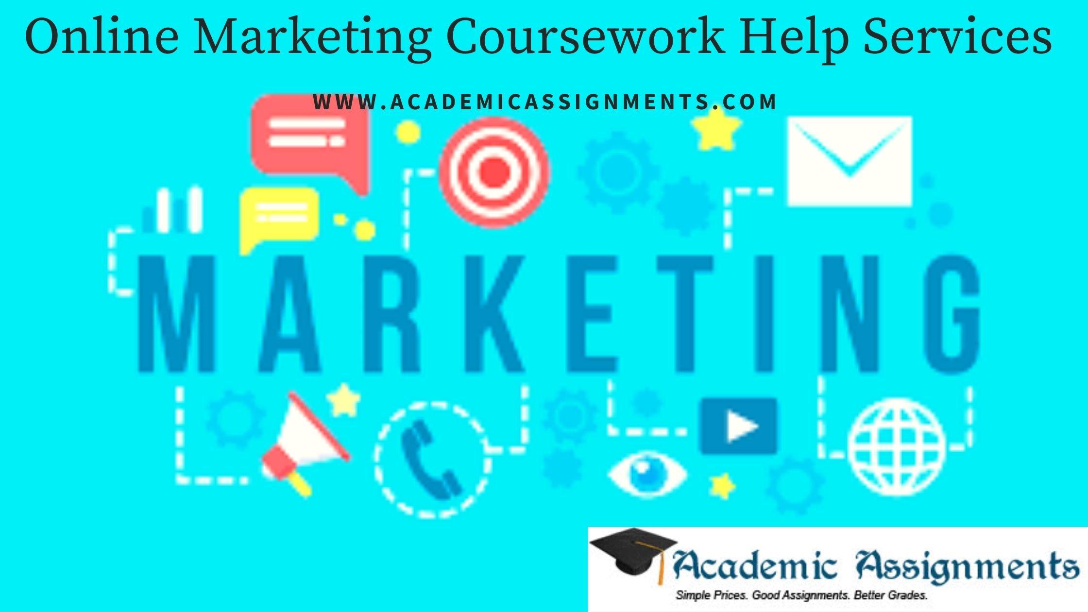 Online Marketing Coursework Help Services