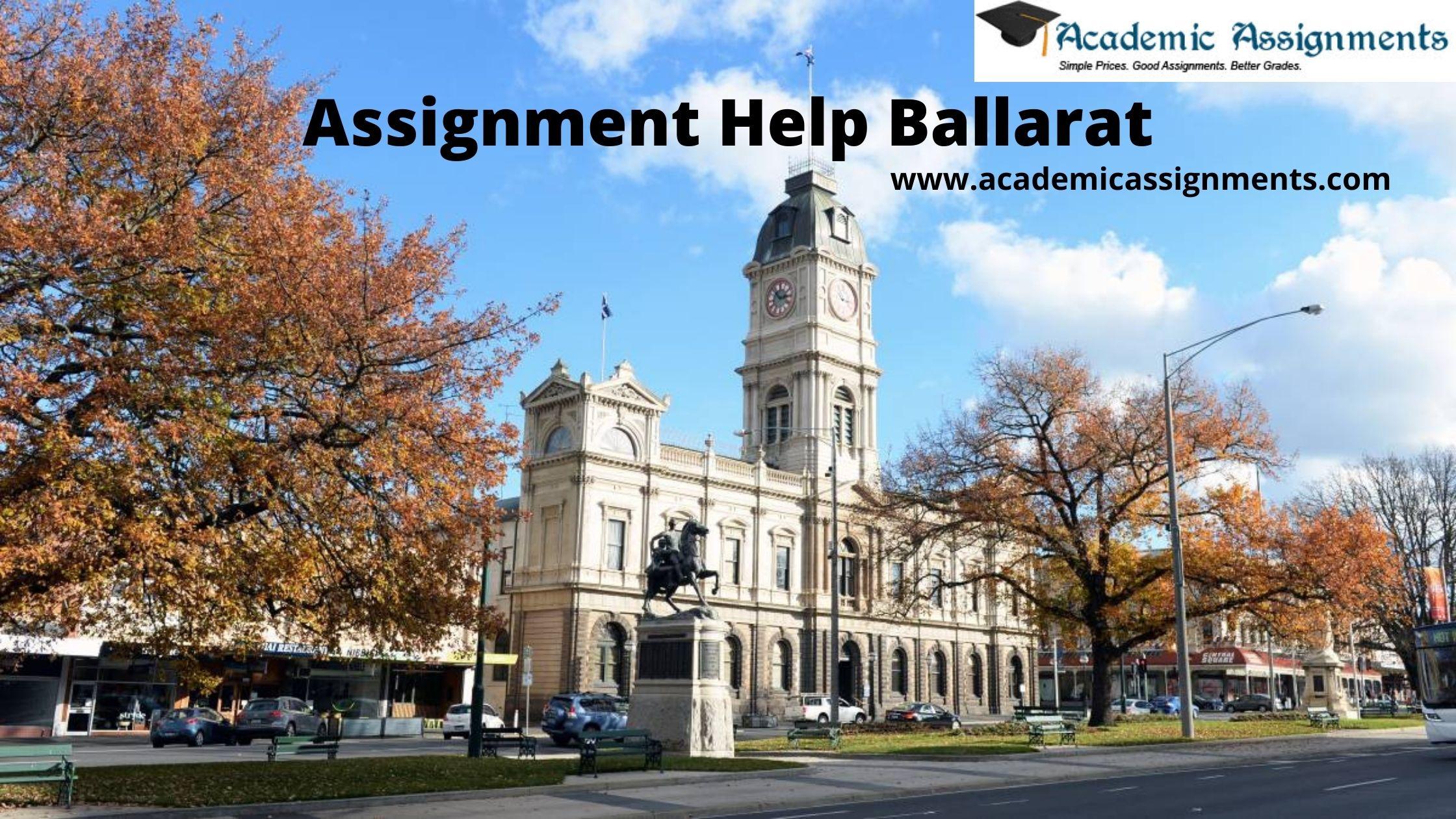 Assignment Help Ballarat