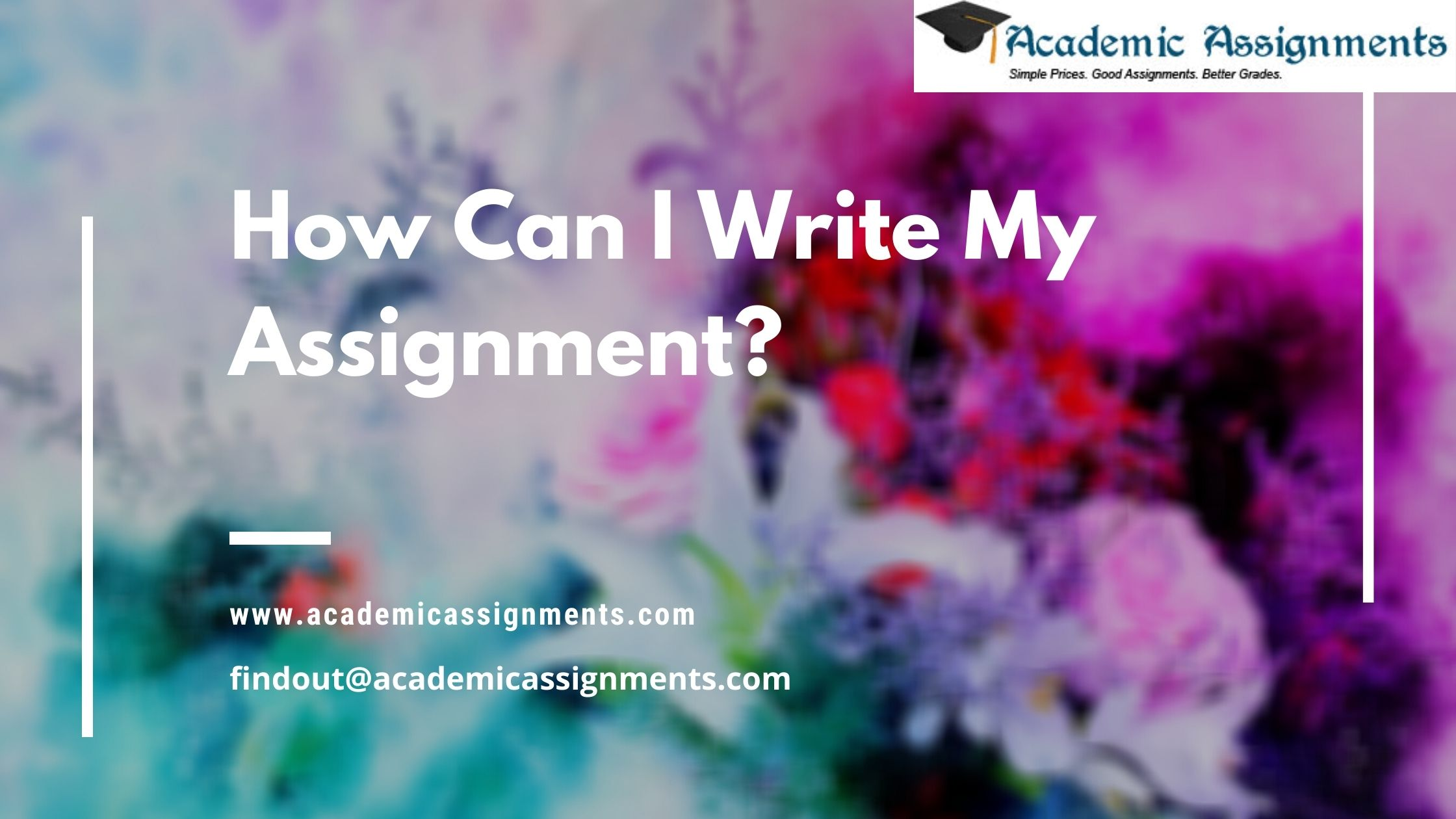 How Can I Write My Assignment