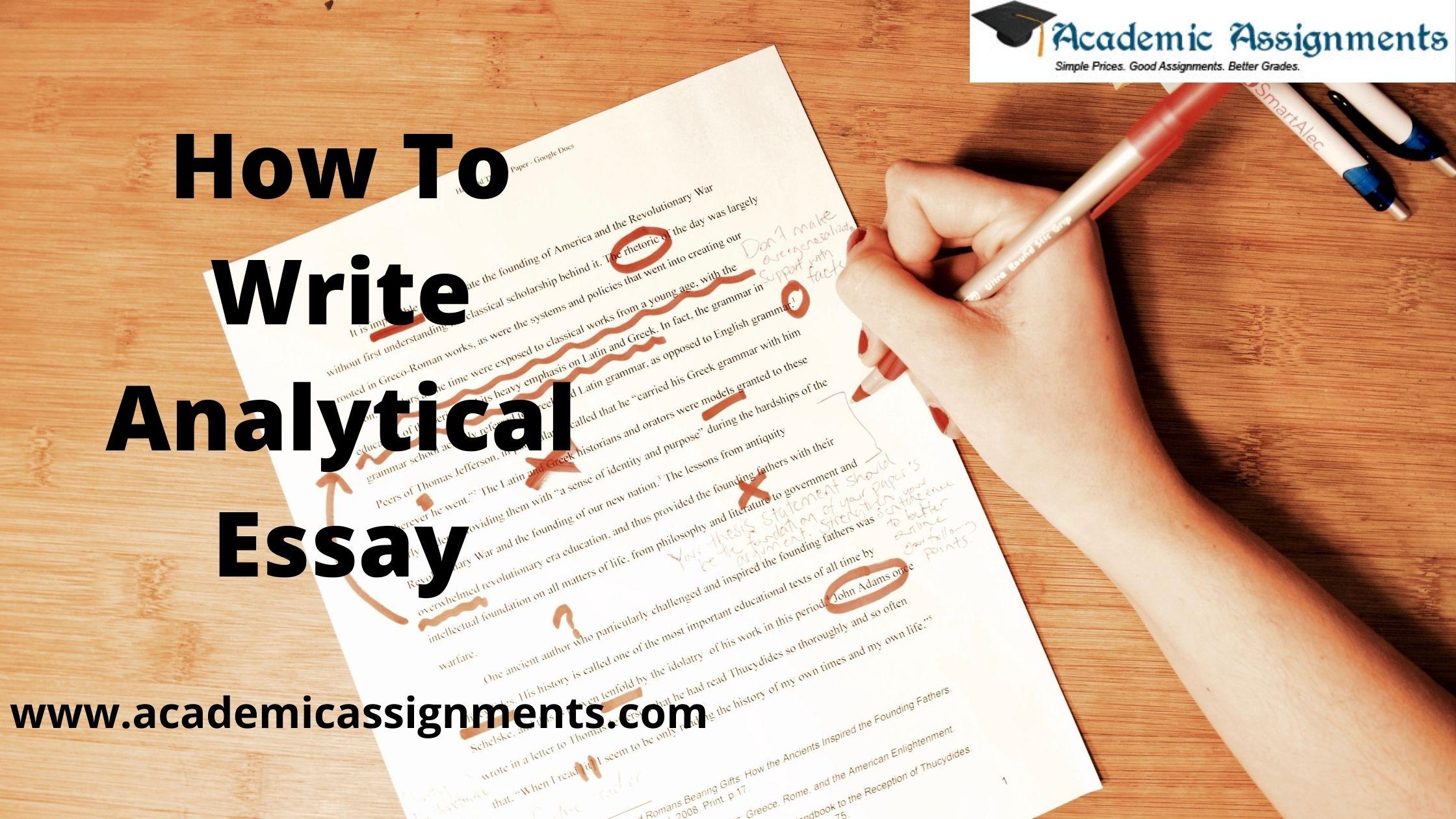 How To Write Analytical Essay